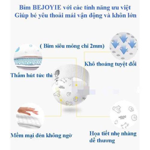 Bỉm cho bé Bejoyie sở hữu nhiều ưu điểm nổi bật so với các sản phẩm khác trên thị trường