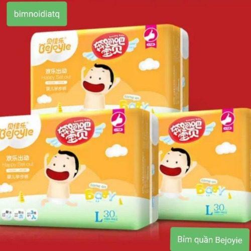 Bỉm nội địa Trung Bejoyie được sản xuất từ nguyên liệu thân thiện với trẻ sơ sinh
