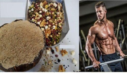 Ngũ cốc tăng cân cho người tập gym