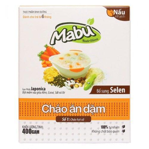 Mabu hạt vỡ là thương hiệu cháo Việt giúp tăng cường sức để kháng ở trẻ