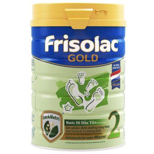 Frisolac Gold số 2 hỗ trợ bé phát triển toàn diện