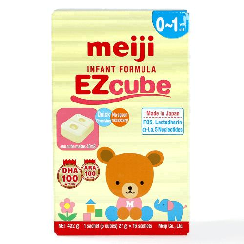 Sữa Meiji dạng thanh dành cho bé từ 0 - 1 tuổi