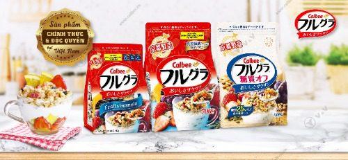 Ngũ cốc Calbee Nhật Bản