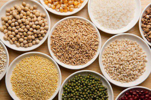 Ngũ cốc bầu có nhiều thành phần khác nhau
