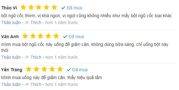 Phản hồi tích cực từ người dùng