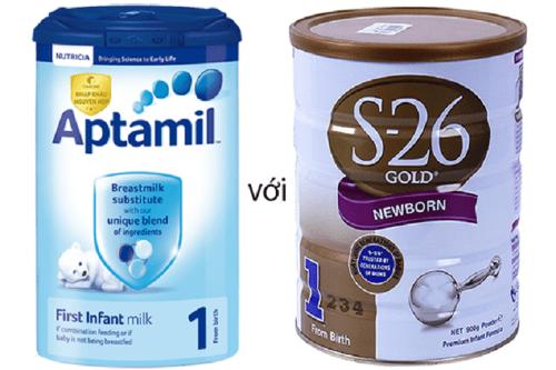 So sánh Aptamil và S26