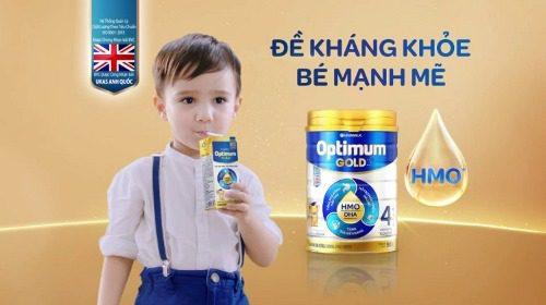 Optimum Gold tăng sức đề kháng, cho bé khỏe mạnh