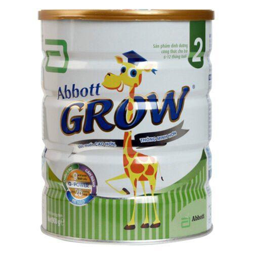 Sữa Abbott Grow 2 giúp bé cao hơn, thông minh hơn