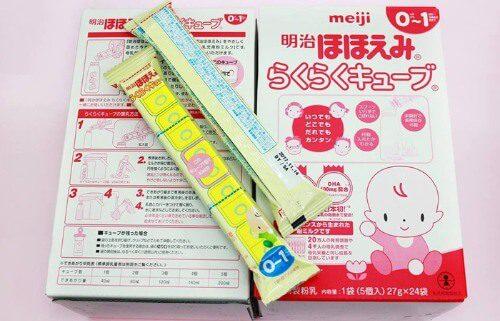 Sữa Meiji dạng thanh có chất lượng rất tốt