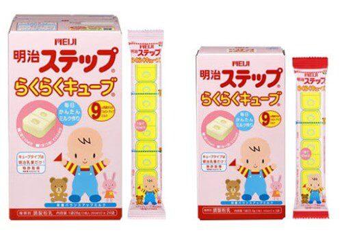Sữa Meiji dạng thanh dành cho bé 1 - 3 tuổi