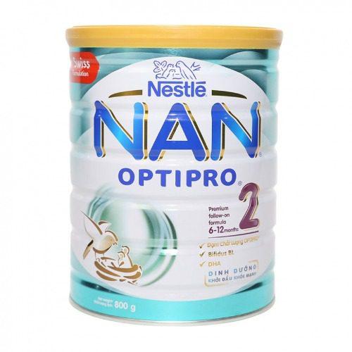 Sữa Nan 2 từ thương hiệu uy tín