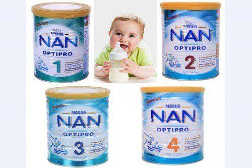 Sữa dinh dưỡng Nan có mấy loại?