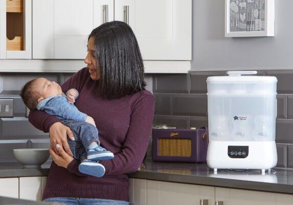 �âu là máy tiệt trùng bình sữa tốt nhất?