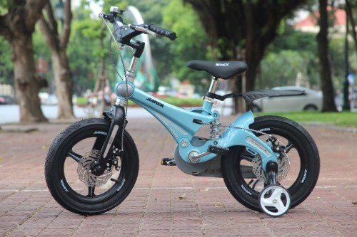 Xe đạp Jianer cho bé trai sở hữu bộ khung Magiê nhẹ và chắc chắn hơn gấp 6 lần so với khung thép
