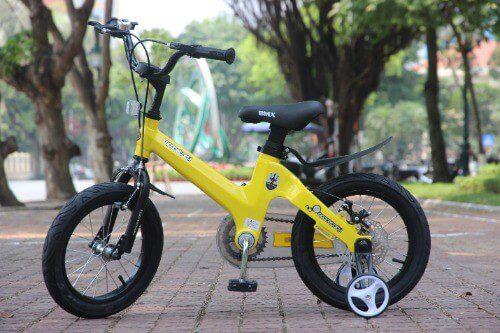Xe đạp OEM cho bé trai 8-10 tuổi sở hữu bộ khung cực kì chắc khỏe và bền đẹp