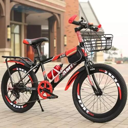 Xe đạp địa hình là niềm mơ ước của nhiều bé trai ở độ tuổi từ 8-10 tuổi