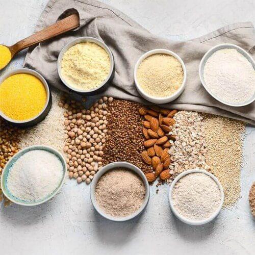 Bột ngũ cốc có thể hòa tan trong nước tạo thành thức uống dinh dưỡng thơm ngon