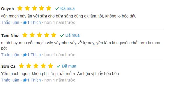 Review từ một số khách hàng đã sử dụng
