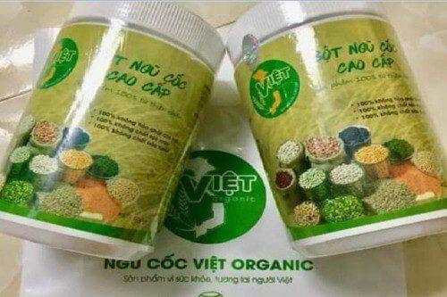 Đây là bột ngũ cốc sản xuất tại Việt Nam