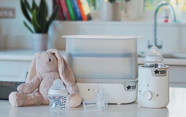Sử dụng máy hâm sữa cho bé tiện lợi và nhanh chóng