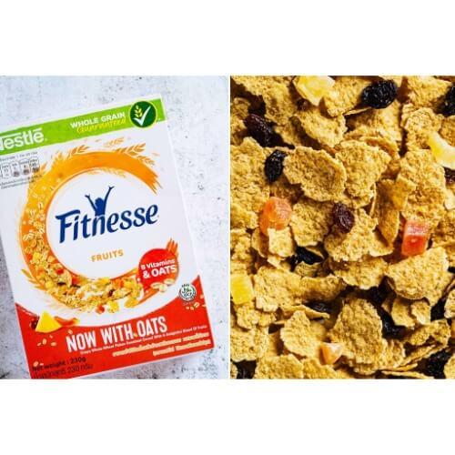 Fitnesse and Fruit Kellogg's là dòng ngũ cốc chuyên biệt cho người ăn kiêng