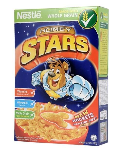 Ngũ cốc Honey Star có khả năng kích thích vị giác giúp trẻ ăn ngon miệng hơn
