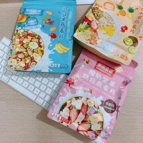 Ngũ cốc Mezhoushike được bán phổ biến tại các trang TMĐT