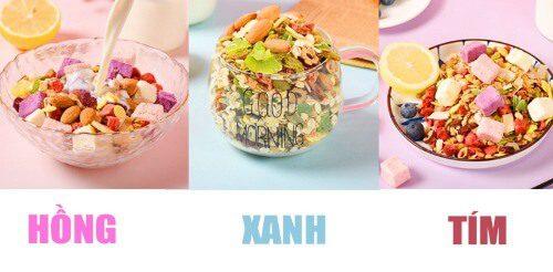 Ngũ cốc của Meizhoushike có màu sắc hấp dẫn