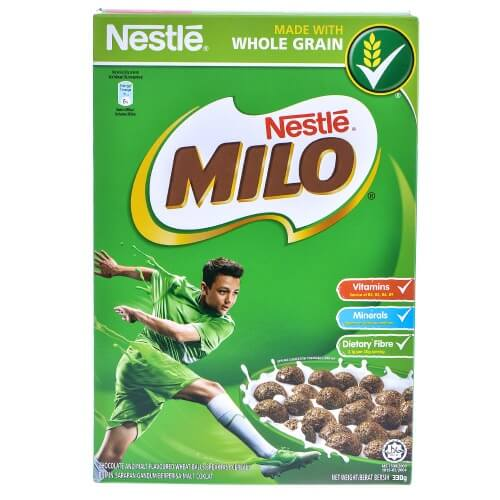 Ngũ cốc Milo dạng viên là thực đơn bữa phụ cực kì thơm ngon và hấp dẫn trẻ nhỏ