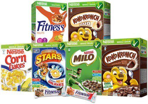 Ngũ cốc của Nestle là một trong những nhãn hàng ngũ cốc được cực kì yêu thích