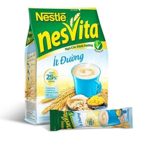Nesvita ít đường bổ sung nhiều chất xơ rất tốt cho người ăn kiêng