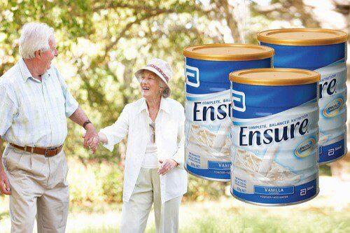 Người già dùng Ensure rất tốt
