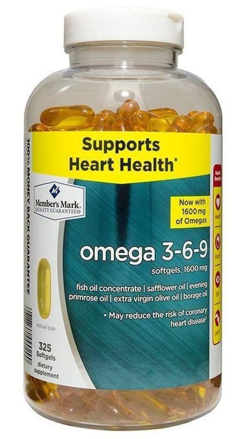 Thực phẩm chức năng Omega 3-6-9 nhập khẩu Mĩ không gây tác dụng phụ