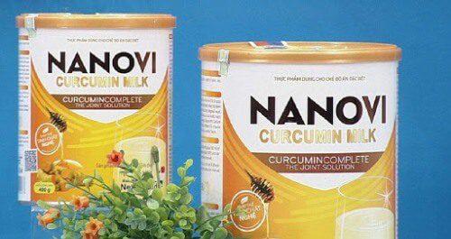 Sữa nghệ Nanovi Curcumin Milk