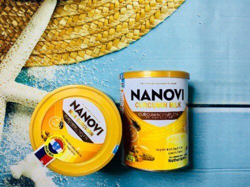 Sữa Nanovi Curcumin Milk