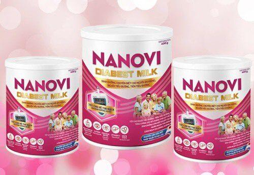 Sữa tiểu đường Nanovi Diabest