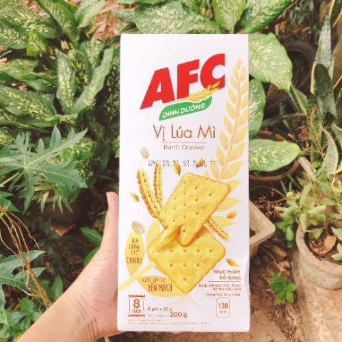 Bánh quy AFC có nhiều phiên bản hương vị thơm ngon hấp dẫn