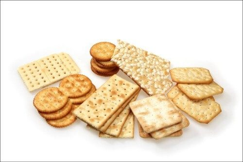 Bánh quy Cracker rất được các mẹ bầu ưa chuộng