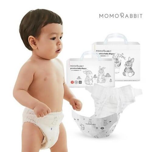 Size XXL là size to nhất của bỉm nội địa Hàn Momo dành cho trẻ từ 12 tới 17kg