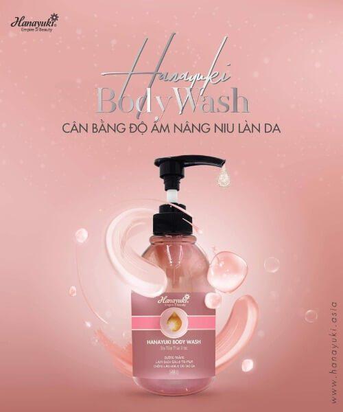 Sữa tắm Hanayuki body wash