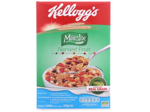 Kellogg's mues harvest fruit