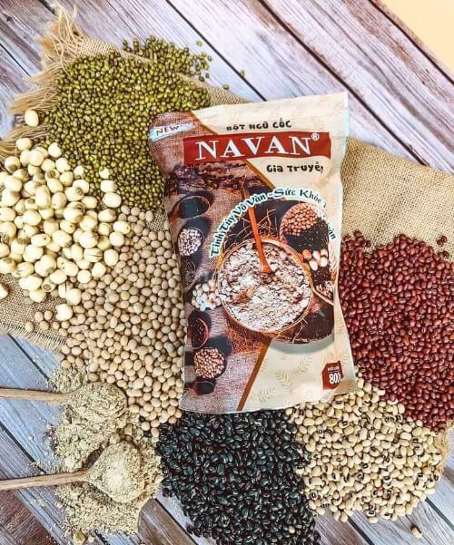 Ngũ cốc gia truyền Navan được làm từ các loại hạt tự nhiên không biến đổi gen
