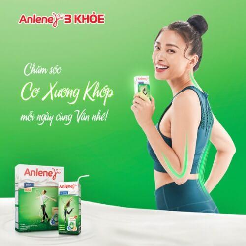 Sữa Anlene và Ngô Thanh Vân