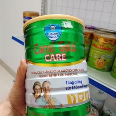 Sữa bột canxi của cô gái Hà Lan có vị ngọt thanh mát rất dễ uống, không lờ lợ