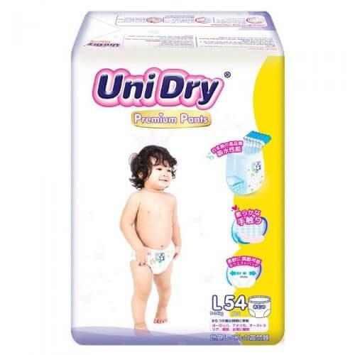 Tã bỉm thương hiệu Unidry có thực sự tốt và đáng giá đồng tiền không?
