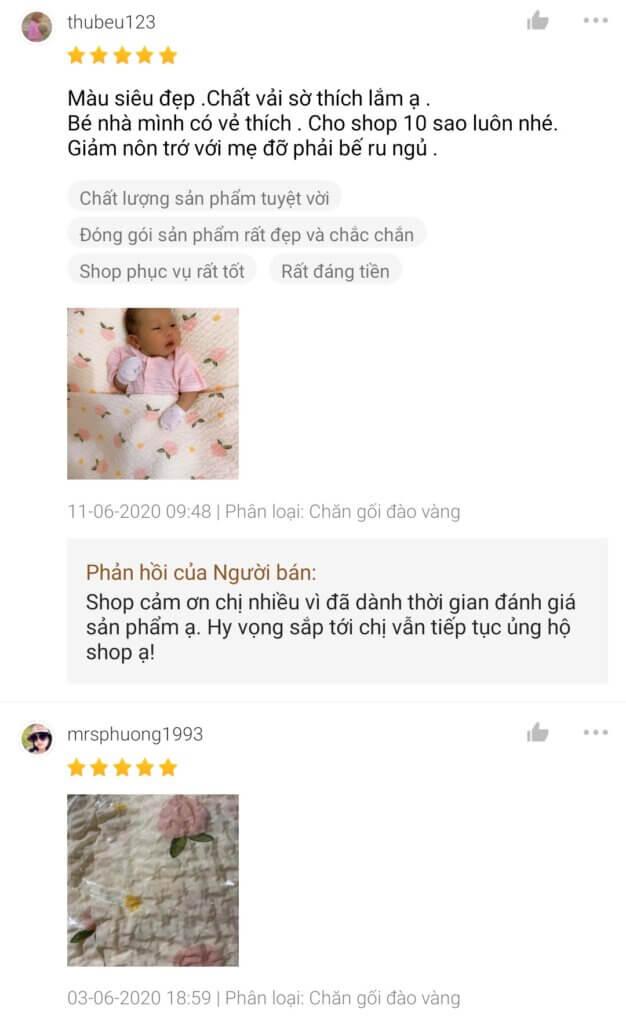 Đánh giá người dùng về Rototo Bebe