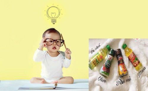 Mua dầu ăn cho trẻ chính hãng ở đâu?