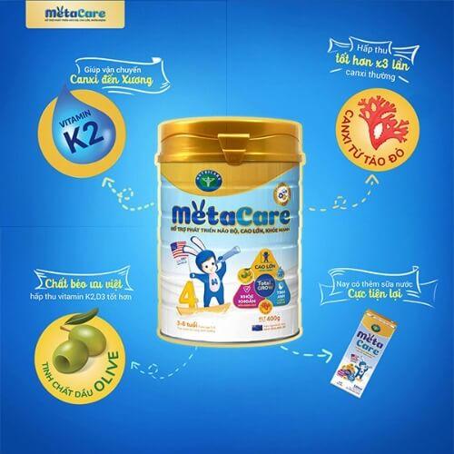 Sữa NutriCarre MetaCare có giúp trẻ cao lớn – kh�e khoắn – tinh anh như l�i đồn?
