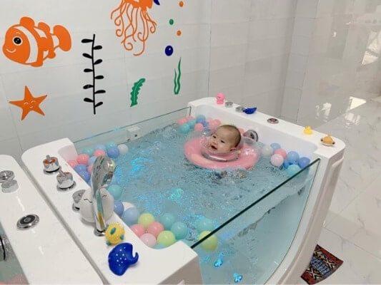 Bồn tắm thủy lực cao cấp massage cho bé