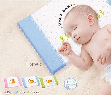 Gối cho bé nên có độ dày từ 3-4 cm